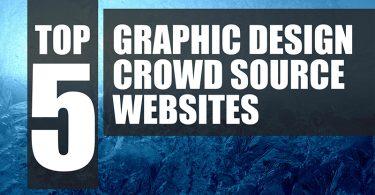 top 5 crowdsource graphic design websites