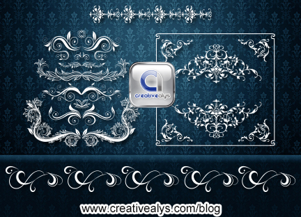 Floral Designs for logo, web and graphics