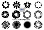 Creative Patterns for Logo, Web & Graphic Designs