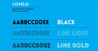 Lavelo Creative Font
