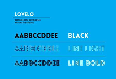 Lovelo Creative Font
