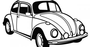 VW Beetle Vector