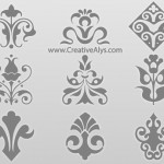Beautiful Floras For Logo, Web & Graphic Design