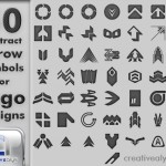 50 Abstract Arrow Symbols for Logo Designs
