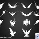 14 Abstract Eagle Silhouettes For Logo Design