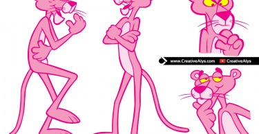 Pink Panther in Vector