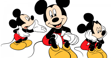 Mickey Mouse Vector Illustrations