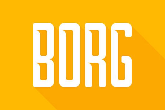 Borg Typography