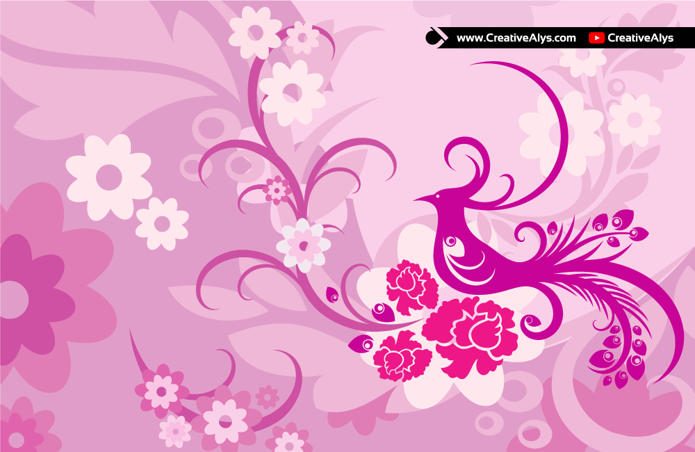 Lovely Floral Background