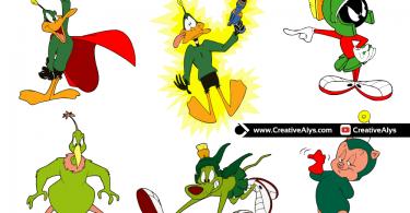 Duck-Dodgers-Vector-Illustrations