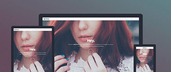 Big Picture – HTML5 Responsive Template