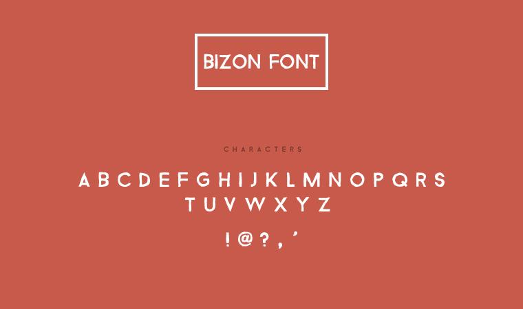 bizon_font_preview