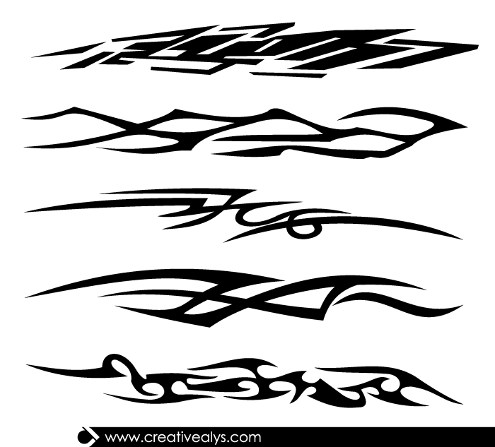 Vector-Tribal-Tattoo-Designs