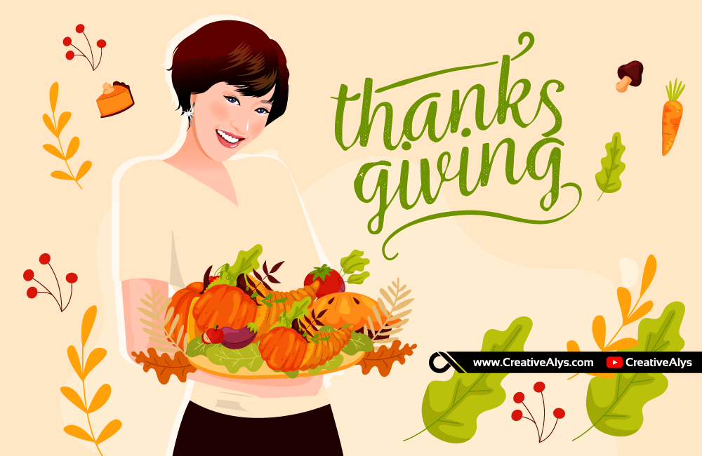 Thanksgiving Vector Illustration