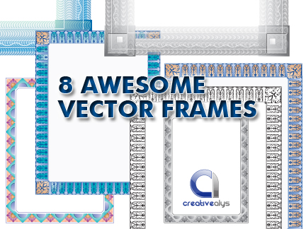 Awesome Frames in Vector