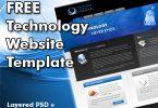 Free Technology Website Template