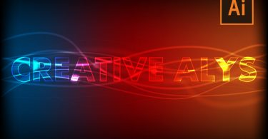 glow-light-vector-text-effect