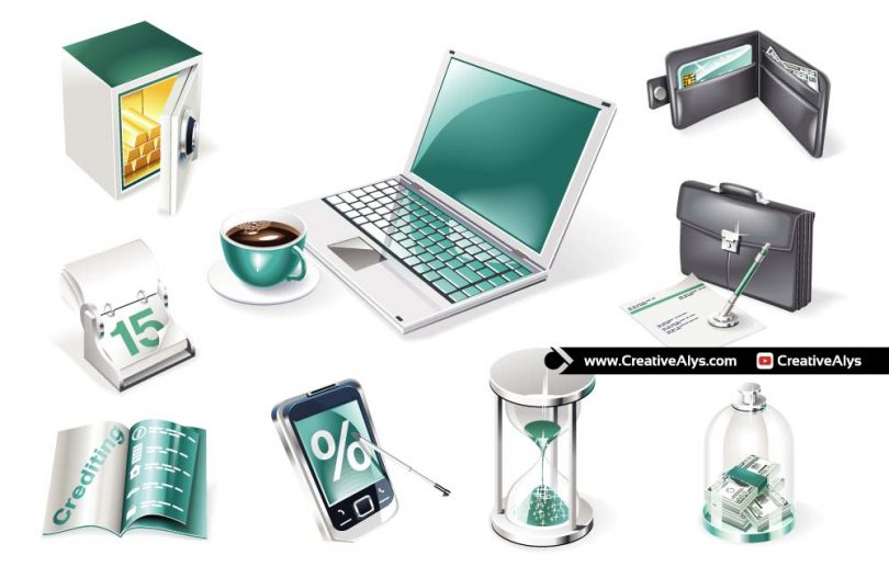 3D-Business-and-Finance-Icons