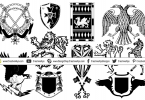 heraldic-symbols-for-logo-design