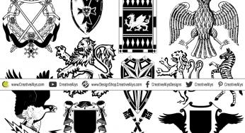 Heraldic Designs Creative Alys