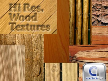 hi-res wood textures