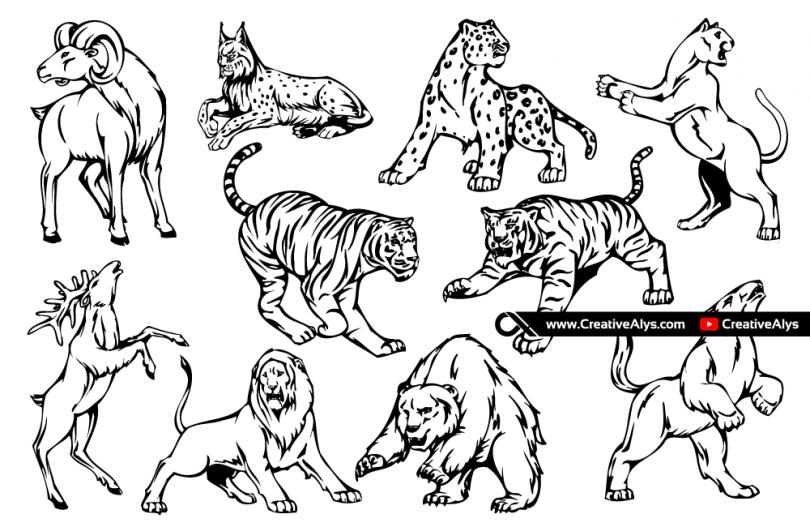 10-free-animal-mascots