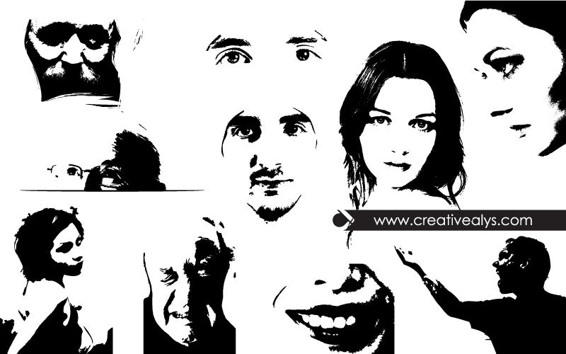 vector-face-illustrations
