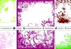 floral-frames-design-elements
