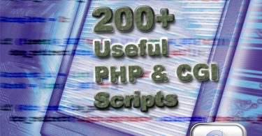 200+ useful PHP and CGI Scripts