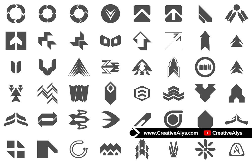 abstract-vector-arrows-collection