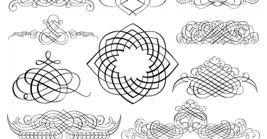Calligraphic-Ornaments