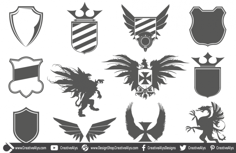 Logo-Design-Heraldic-Elements