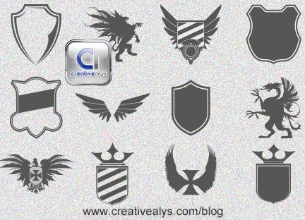 Logo Design Heraldic Elements