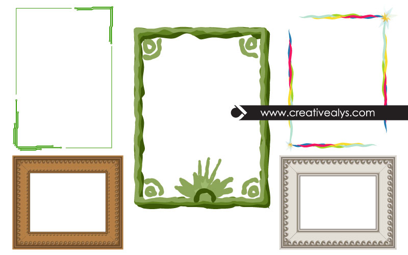 photo-frames-vector-borders
