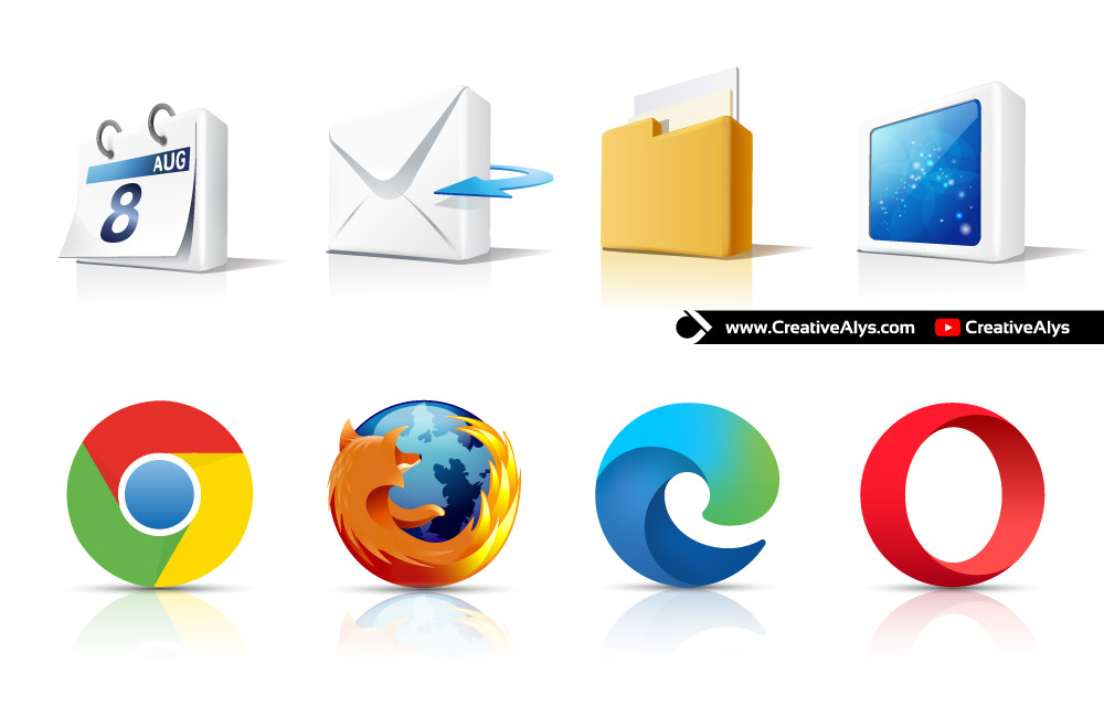 3d-internet-icons