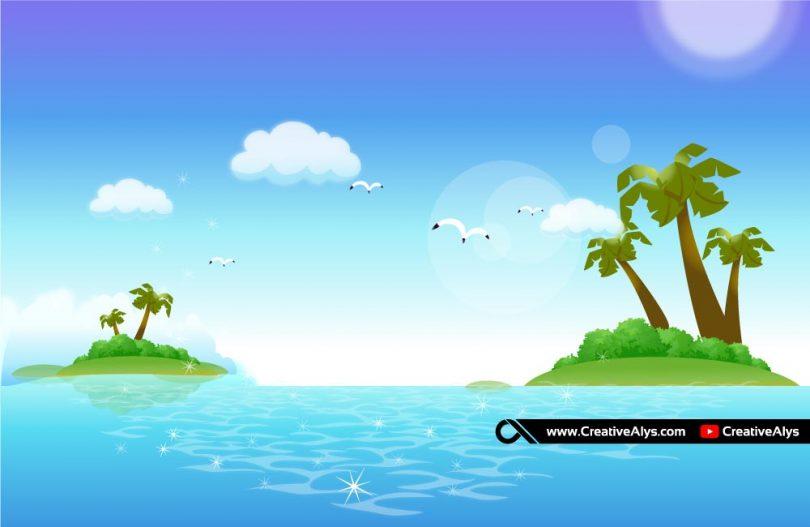 beautiful-landscape-vector-artwork