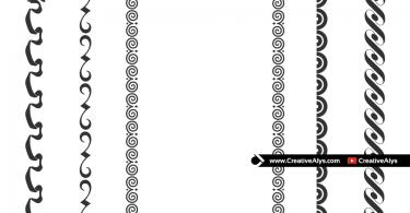 Stylish-Vector-Borders