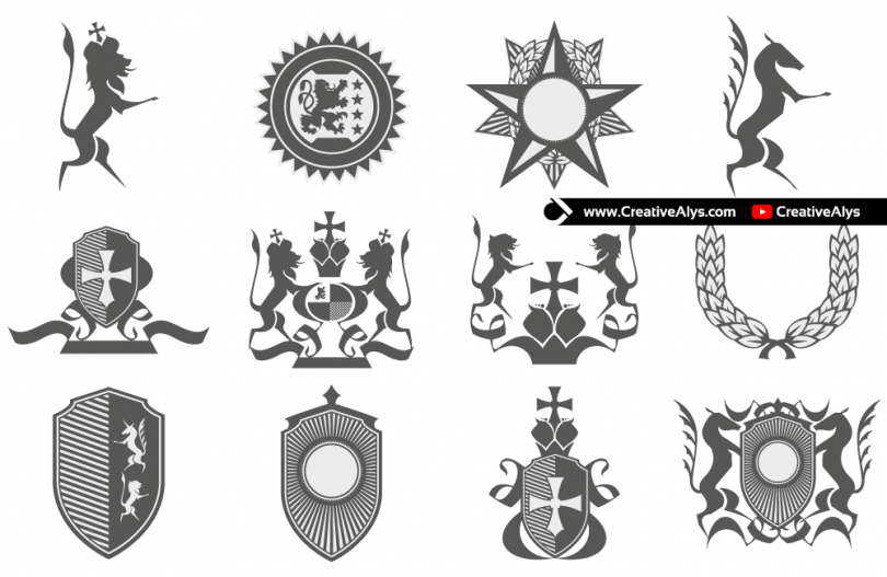 Heraldry-for-logo-designs