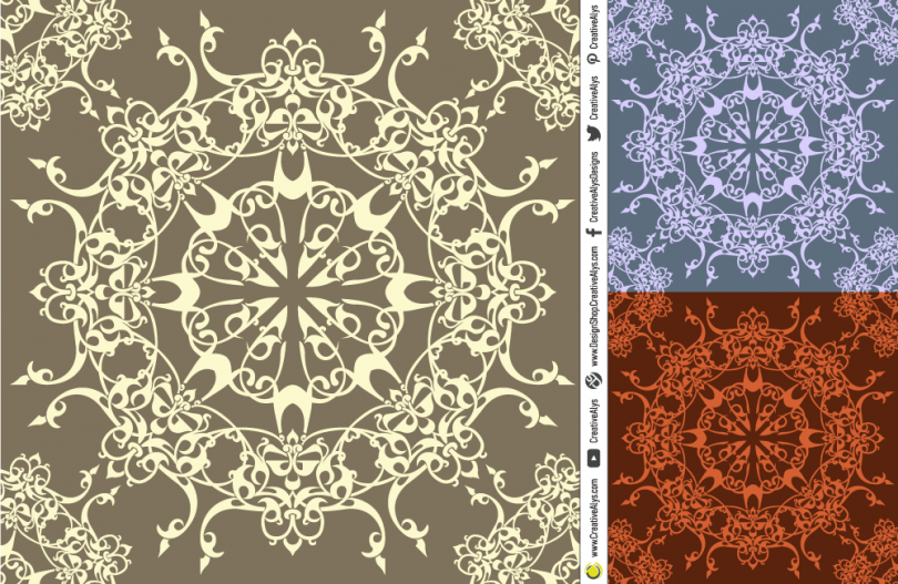 calligraphic-seamless-pattern-design