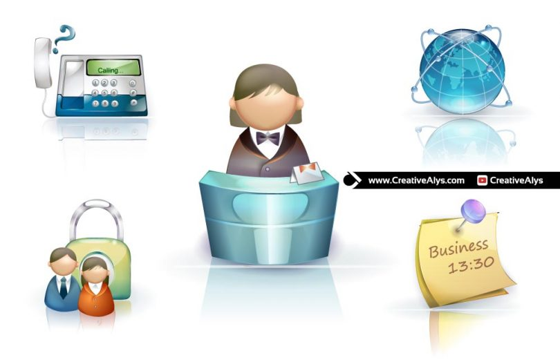 Beautiful-3D-Business-Icons