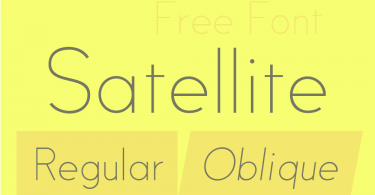 satellite-free-font