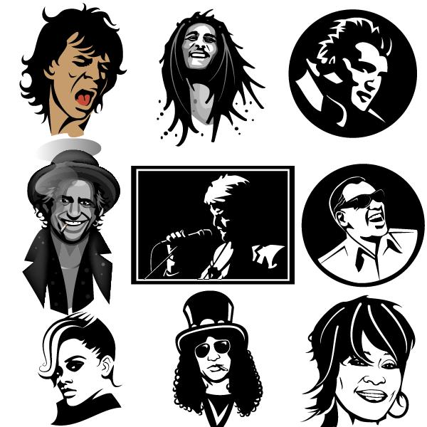Musicians Portraits