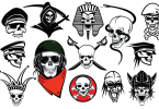skull-vector-pack