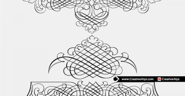 Creative-Calligraphy-Free-Vector