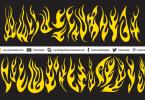 Creative-Vector-Flames