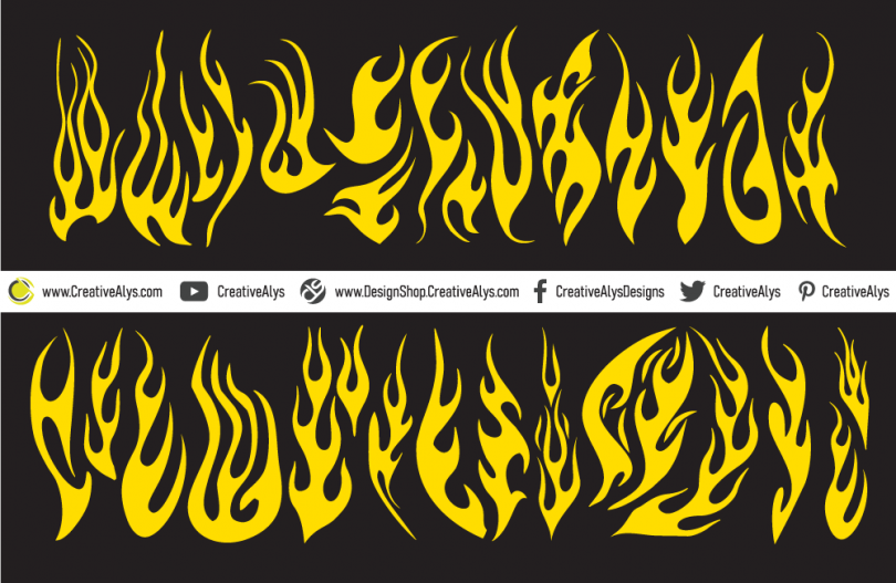 Creative-Vector-Flames