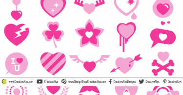 Vector-Heart-Designs