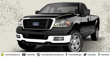 Ford-Realistic-Vector-Vehicle