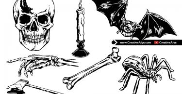 Horror-Vector-Elements