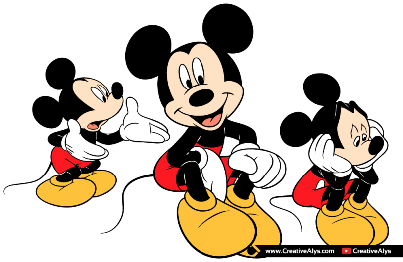 Mickey-Mouse-Vector-Illustrations